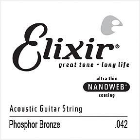 Elixir Acoustic Einzel Saite 042 Phosphor Bronze