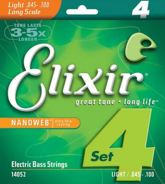 Elixir E-Bass Saiten Long Scale 4 Saiten,