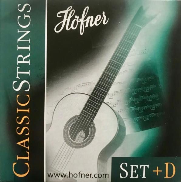 Höfner Classic Gitarren Saiten Set + D