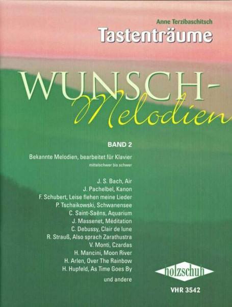 Tastenträume Wunschmelodien für Piano von Anna Terzibaschitsch Band 2
