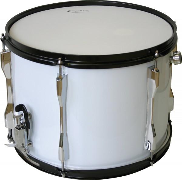 """Scott Kinder Marching Snare Drum weiß m. Gurt 14"""" x 10"""