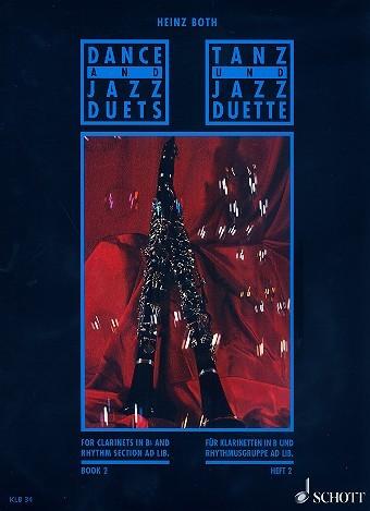 Dance und Jazz Duette für Klarinette Band 2 von Heinz Both