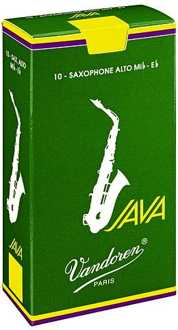 Vandoren Blätter Java Saxophon Alt 2,0 ( Grün )