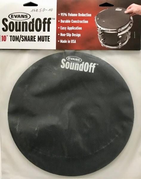 "Evans SoundOff 10"" Tom/Snare Mute"