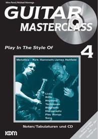 Guitar Masterclass 4 von Michael Morenga