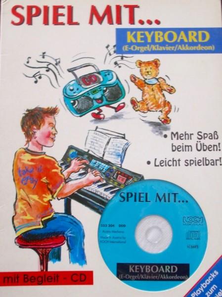Spiel mit... Keyboard mit CD