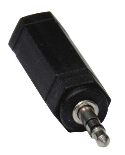 Schulz Kabel Adapter 6,3mm Stereoklinkenbuchse an 3,5mm Stereoklinkenstecker
