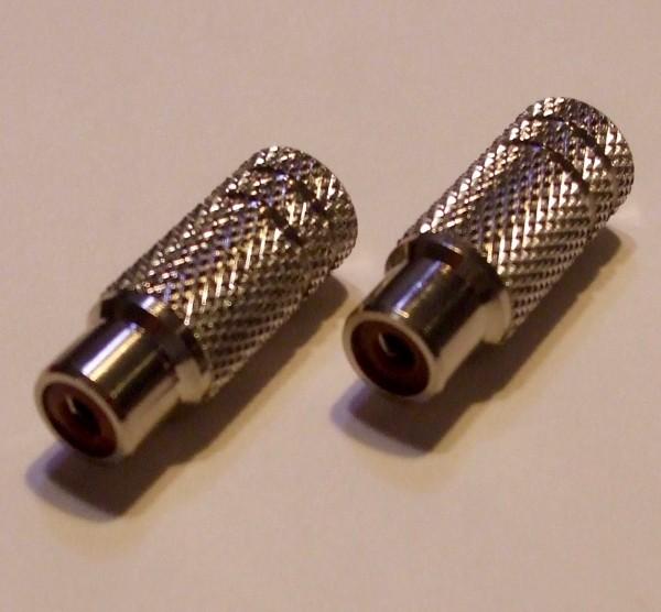 Schulz Kabel RCA Buchse metall chinch klein