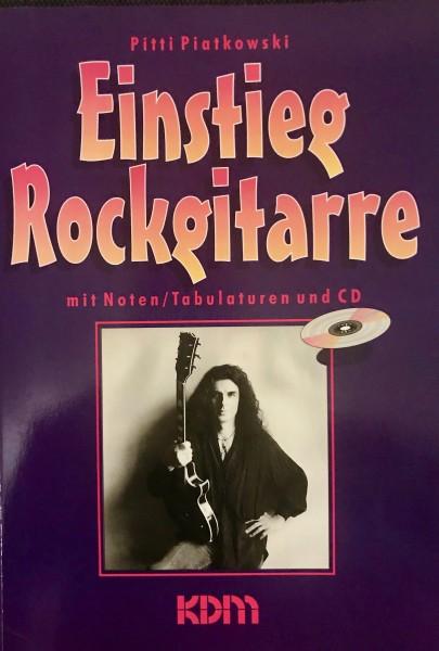 Einstieg Rockgitarre von Pitti Piatkowski