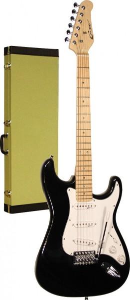 Career Stage-1 E-Gitarre schwarz Maple