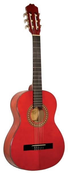 Kinder Konzertgitarre Kirkland Mod.34 Rot 3/4
