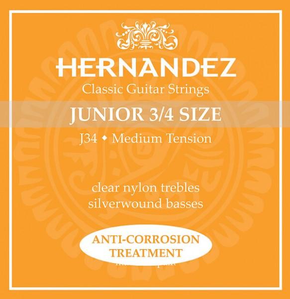 Hernandez Classic Gitarren Saiten Junior 3/4