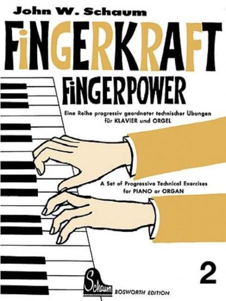 Fingerkraft Band 2 von John W. Schaum