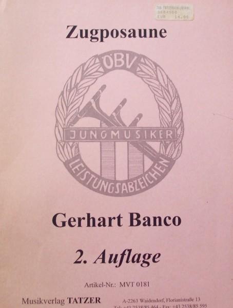 Zugposaune Gerhart Banco 2. Auflage ÖBV
