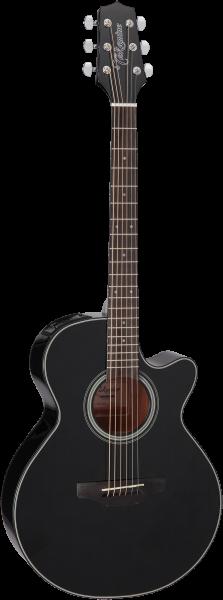 TAKAMINE Westerngitarre, G-Serie, GF15CE BLK, FX/C