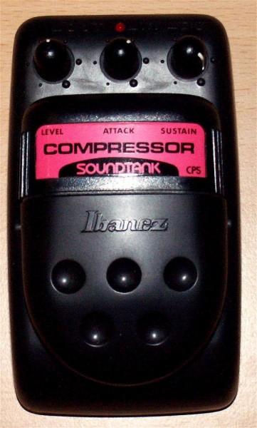 Ibanez CP 5 Bass-Compressor Soundtank Serie