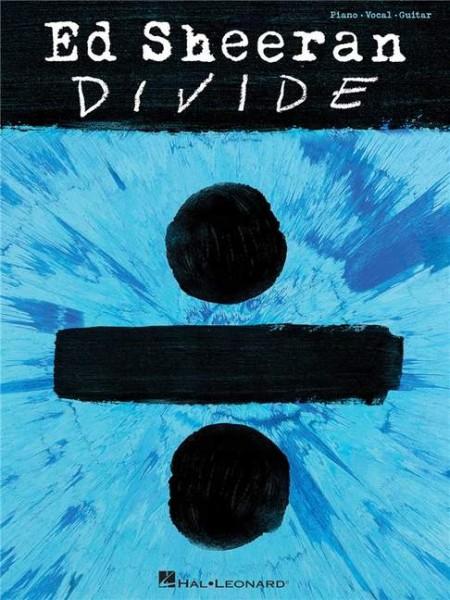 Ed Sheeran Divide Songbuch für Piano Gesang Gitarre