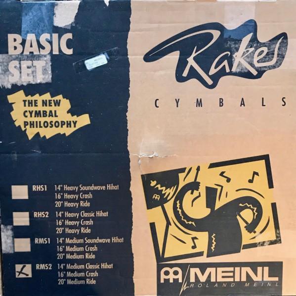 Meinl Cymbal Set Raker Serie