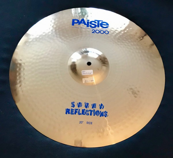 """Paiste Cymbal Sound Reflection 20"""" Ride Serie 2000"""