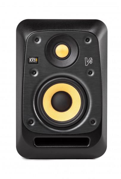 """KRK Studiomonitor, Nahfeld, aktiv, V4S4, 85 Watt, 4""""/1"""", schwarz"""