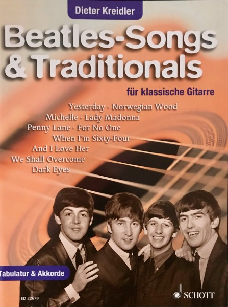 Beatles - Songs & Traditionals für klassische Gitarre