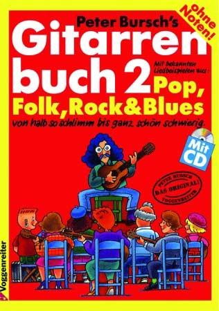 Gitarrenbuch Band 2 ohne Noten von Peter Bursch