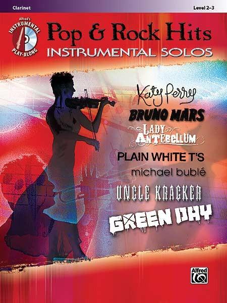 Pop & Rock Hits Instrumental Solos für Clarinete