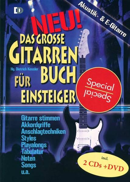Das große Gitarrenbuch für Einsteiger von Dietrich Kessler