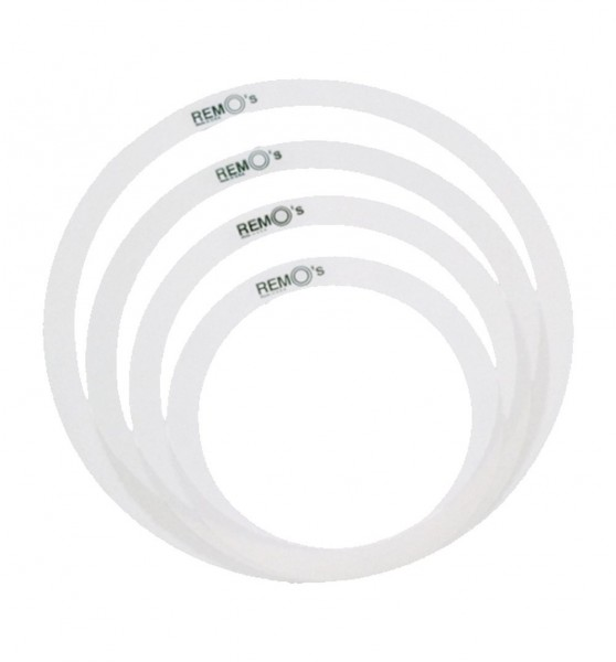 Remo Sound Dampening Rings Set