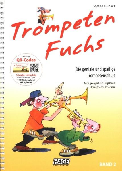 Trompetenfuchs Band 2 mit CD von Stefan Dünser