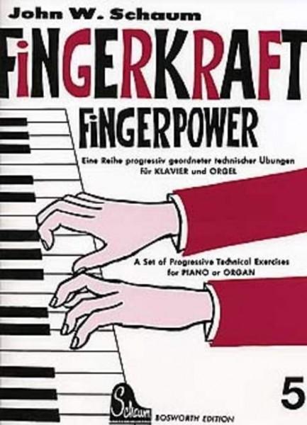 Fingerkraft Band 5 von John W. Schaum