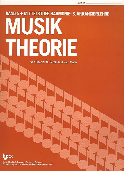 Musik Theorie Band 5 Charles Peters, Paul Yoder