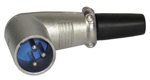 Schulz Kabel XLR Stecker male 3-Pol gewinkelt