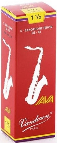 Vandoren Blatt Java Red Saxophon Tenor 2,5 ( Red ) Einzelblatt