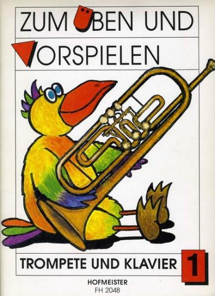 Zum Üben und Vorspielen Heft 1 Trompete Klavier