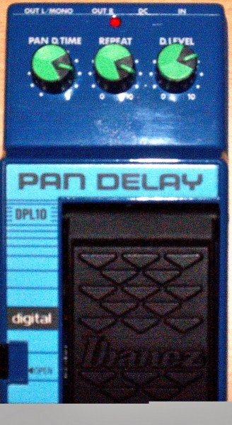 Ibanez DPL 10 Digital Pan Delay f¸r Gitarre