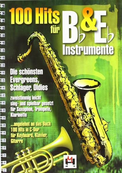 100 Hits für Bb- & Eb-Instrumente Band 1