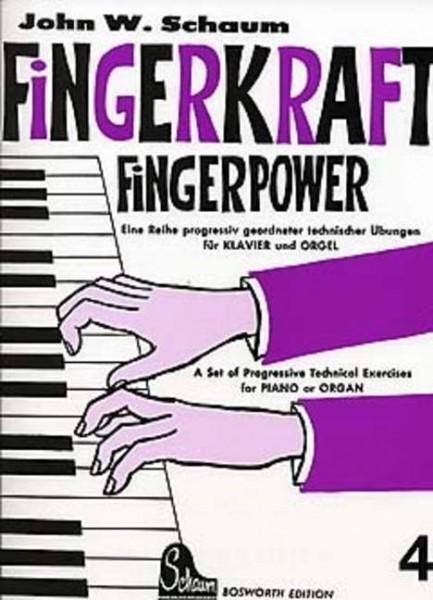 Fingerkraft Band 4 von John W. Schaum