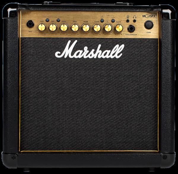 Marshall MG 15 GFX Gold Serie