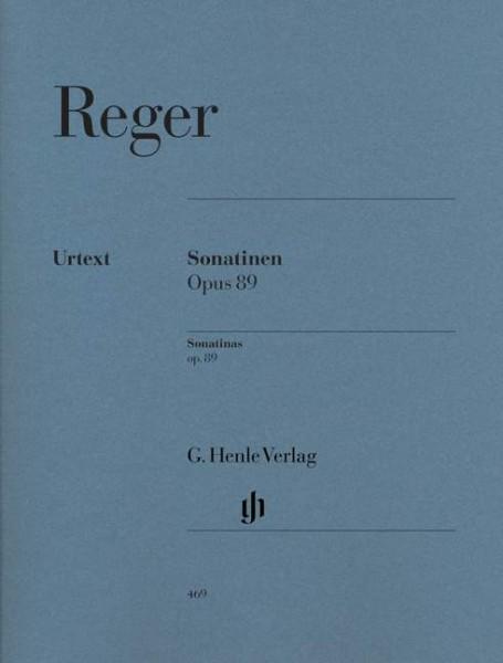 Sonatinen op. 89 Max Reger