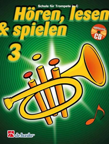 Hören, lesen & spielen Trompete Band 3