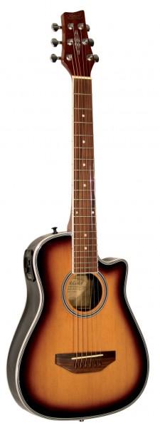 Kirkland Traveller Guitar Sunburst