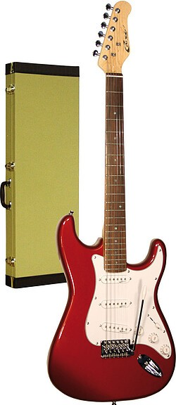 Career Stage-1 E-Gitarre candy apple red