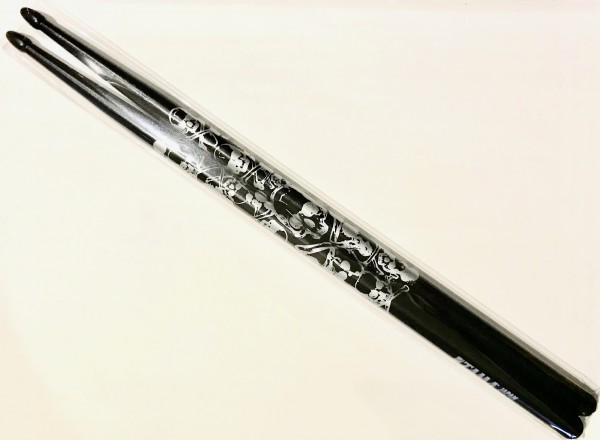 Tama Drumsticks O5B-S-BS Skull Pattern Black - Silver