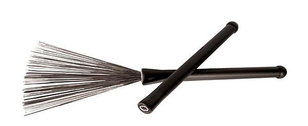 Jazzbesen Metal Brushes, o. Schieber