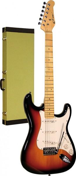 Career Stage-1 E-Gitarre Sunburst Maple