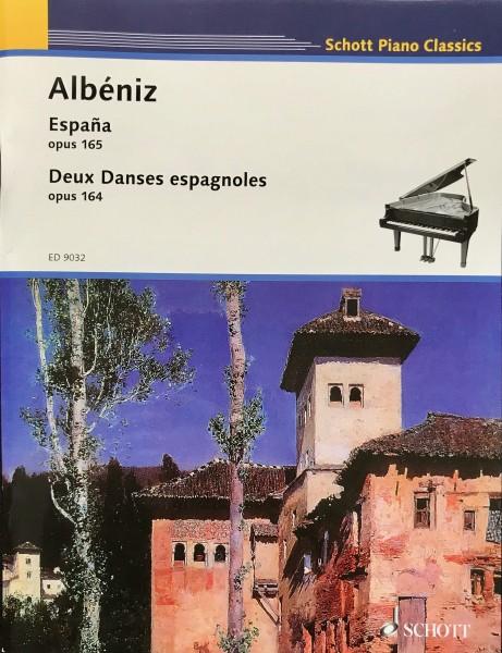 Albeniz- Espagna Op. 165 & 2 Dances espagnol Op. 164