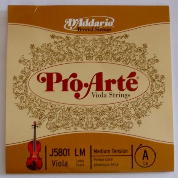 Daddario Pro Arte Viola A - Einzelsaite 4/4