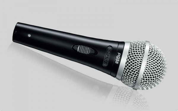 Shure PG 58 Dynamisches Vocal-Mikrofon