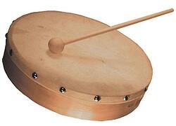 Tamburin 10 Zoll (incl. Schlegel)